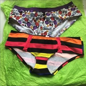 VS PINK PANTY VINTAGE EXTRA LOW RISE HIPSTER 2010